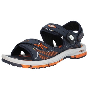 Water Release Snap Lock Sandal: 7649 Orange (Size: EU41)